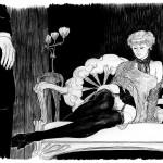 Adélie d'Arcueil, illustration pour la version N&B de Nuits Indiennes.