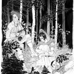 La Mariée était en fuite, dessin de couverture pour la première aventure de Diane d'Aventin par Nelly Chadour aux éditions Le Carnoplaste.