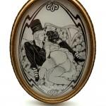 Douce Soumission, indécente miniature pour l'exposition Les Secrets de la Villa d'Este.