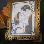 Le Baiser, indécente miniature pour l'exposition Florale Indécence.